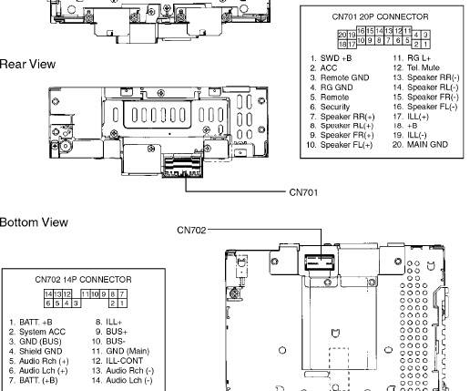 Wiring Diagram For Pioneer Avh P2300dvd : Pioneer avh p dvd wiring diagram bhs
